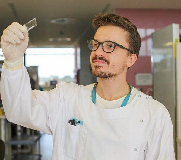Male researcher
