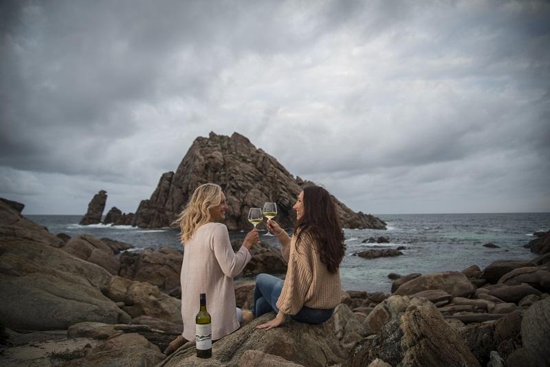 Two ladies enjoying the moment